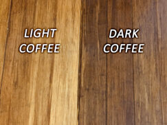 Dark and Light Coffee