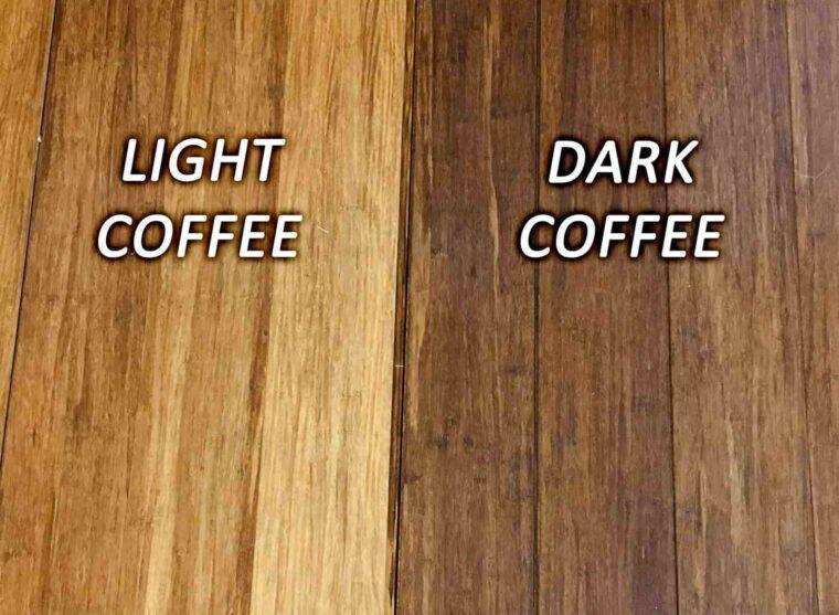 Dark and Light Coffee